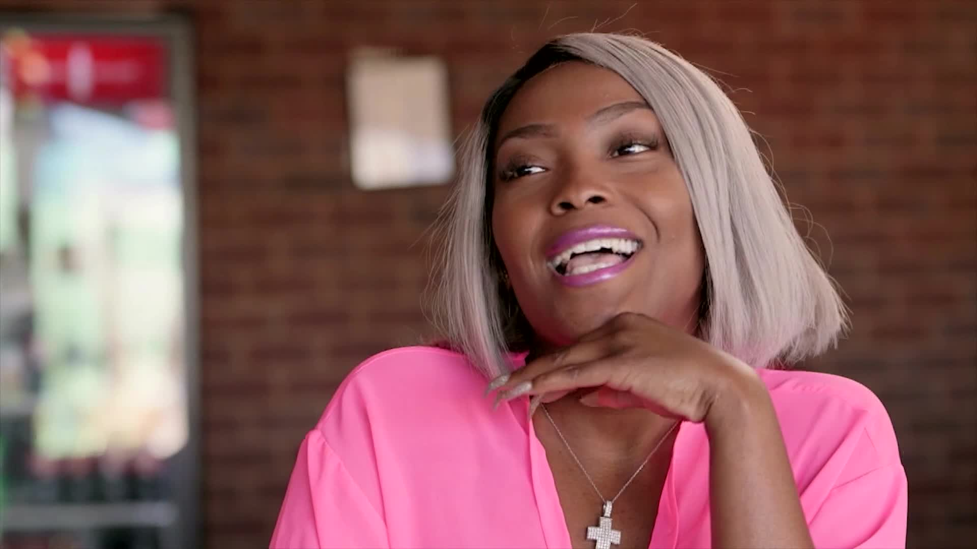 Beyond the Pole – Is Ms  Dime Hitting On Angel Kake?! – WE tv